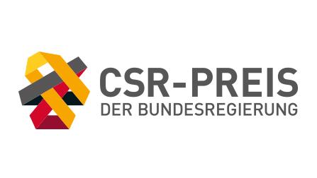 Logo CSR-Preis der Bundesregierung